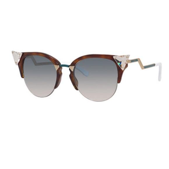 724fbfb9329 Fendi Iridia Cat-Eye Sunglasses
